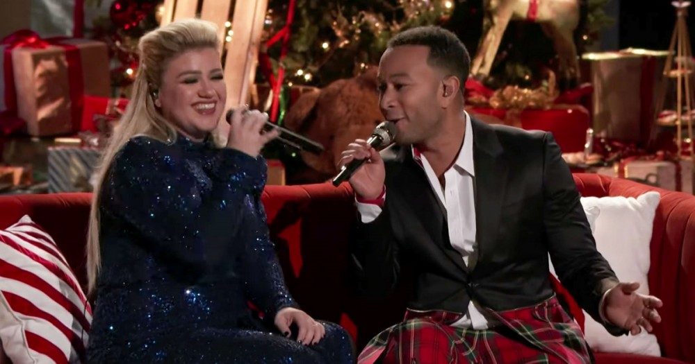 Kelly Clarkson and John Legend Debut Less-Rapey 'Baby, It's Cold Outside' | Real Street Radio