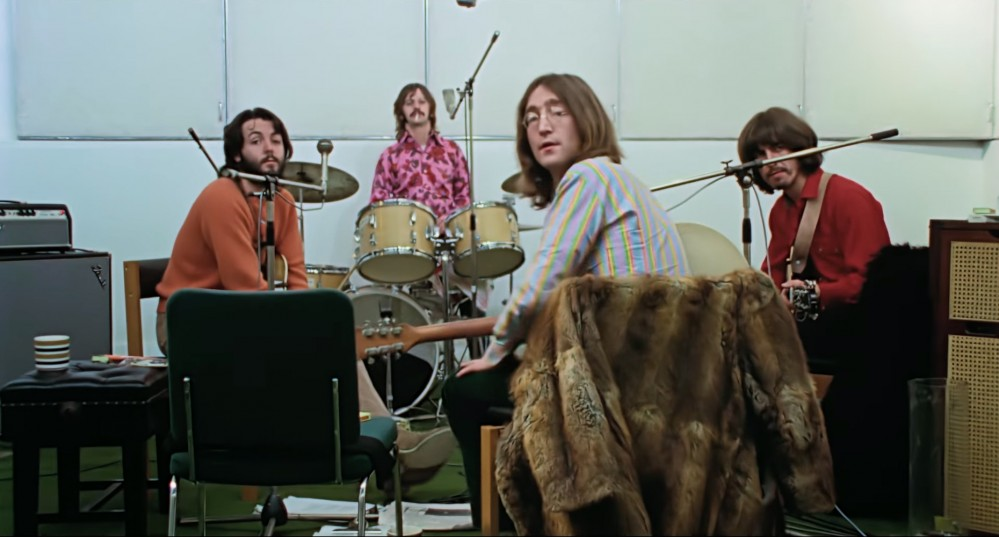 The Beatles captured in the studio in the trailer for the upcoming three-part documentary 'Get Back.'
